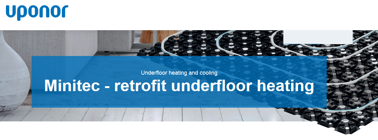 Minitec Underfloor heating Tomkinson Heating